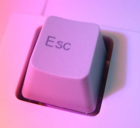 """<font size=""""3""""> Escape </font>"""